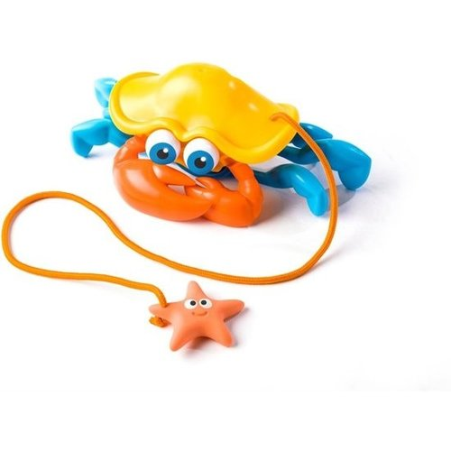 Fat Brain Toys Fat Brain Toys Trekdier Krab 24 Cm Oranje
