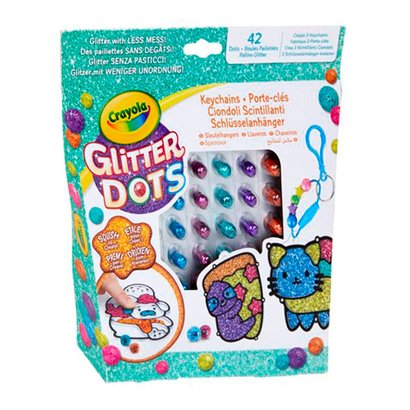 Crayola Crayola Glitter Dots - Sleutelhangers Set