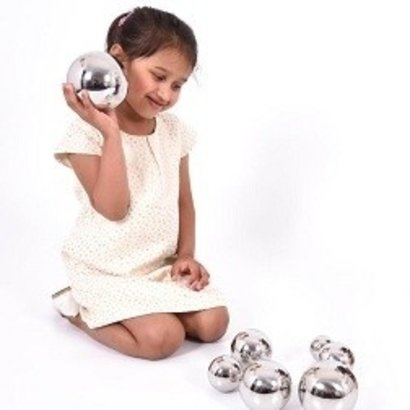 tickit Sensorische Reflecterende Ballen met Geluid - set van 7