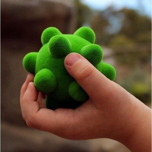 Mini Rubbabu balletjes - set van 3 zachte speelballen - 6cm