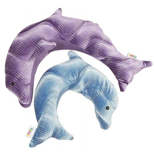 Manimo Manimo verzwaarde knuffel - Dolfijn