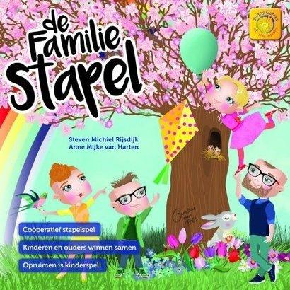 Sunny Games / Zonnespel De Familie Stapel - coöperatief bordspelDe Familie Stapel - coöperatief bordspel