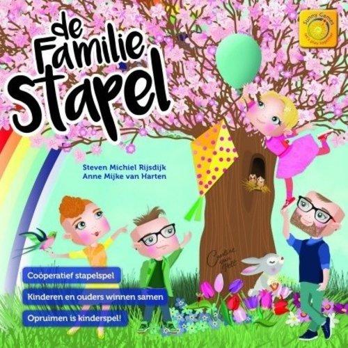 Sunny Games / Zonnespel De Familie Stapel - coöperatief bordspel