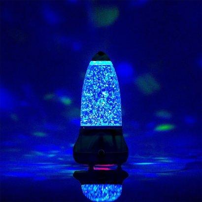 Volcano Glitter Lamp