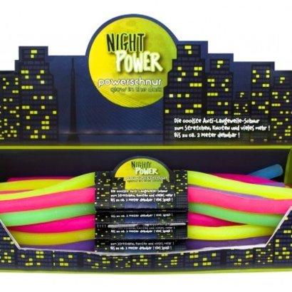 Power string - Glow in the dark - per stuk