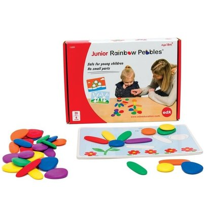 EDX Junior Rainbow Pebbles