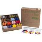 Crayon Rocks box 4 x 16 colors