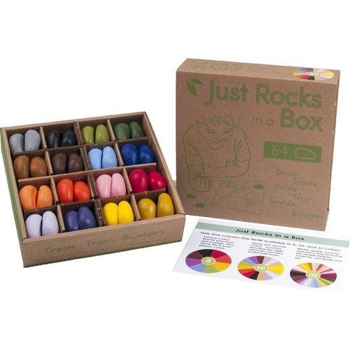 Crayon Rocks box 2 x 32 colors