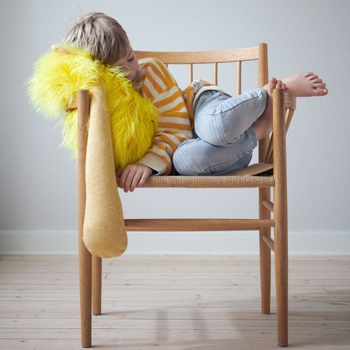 Made By Us Toys Hairy Hugger- therapeutische verzwaringsknuffel die helpt ontprikkelen