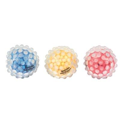 Sensorische Roll-N-Rattle Ballen, de ratelende noppenballen