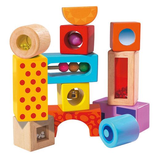 Beleef speelgoed met al je zintuigen