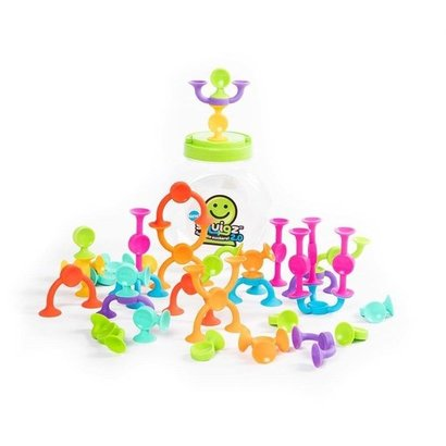 Fat Brain Toys Squigz 2.0  - zuignappen speelgoed
