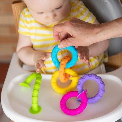 Fat Brain Toys Pip Squigz Ringlets - leuk zuignappenspeelgoed