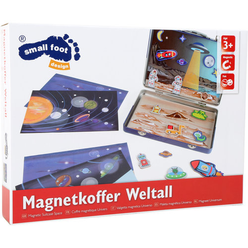 Small Foot Magneet Koffer Ruimte