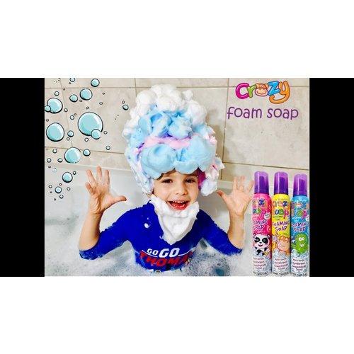 Kids stuff Crazy Foaming Soap - Kids stuff -voor uren sensopatisch spel