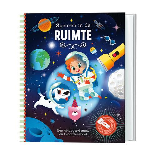 Zaklamp Boek - Speuren in de ruimte