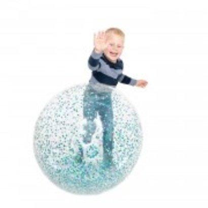 Opblaasbare Glitter Bal 85cm