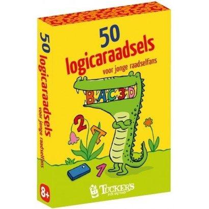 Tuckers 50 logicaraadsels voor jonge raadselfans