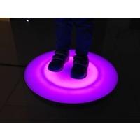 Round Interactive Light Floor Tile