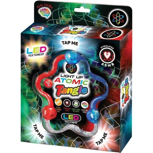 Tangle Toys BrainTools Tangle jr Atomic - met led licht