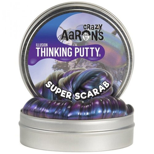 Crazy Aarons Thinking Putty Crazy Aarons Thinking Putty - Super Illusions -Super Scarab