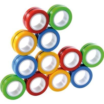 Magneet Ringen, set van 12 stuks