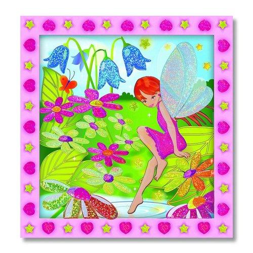 Melissa and Doug Melissa & Doug - Peel & Press Sticker by Number - Flower Garden Fairy