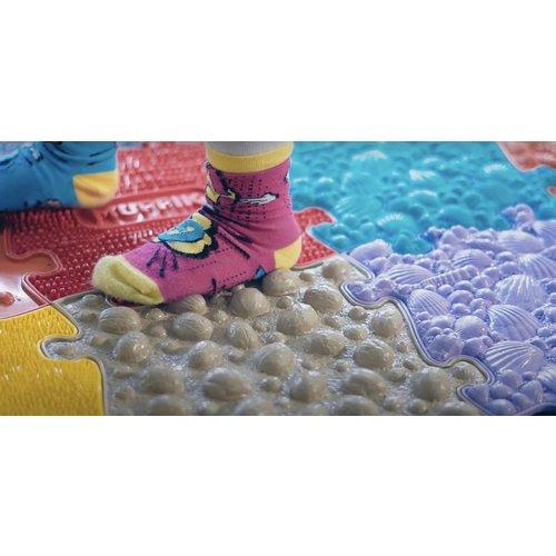 MuffiK sensorisch voetpad, het voelt alsof je op blote voeten naar buiten loopt
