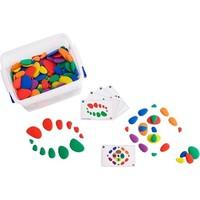 Rainbow Pebbles School Set