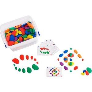 EDX Rainbow Pebbles School Set