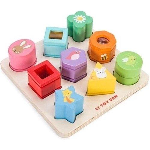 Le toy Van Petilou Zintuigspel - vormen