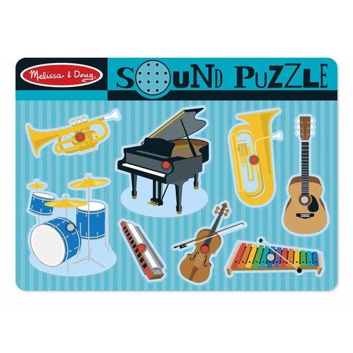 Melissa and Doug Muziek Puzzel - Muziek Instrumenten
