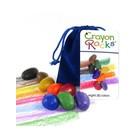 Crayon Rocks Crayon Rocks 8 waskrijtjes in fluwelen zakje