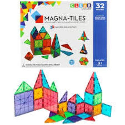 Magna-tiles 32st, magnetische vormen