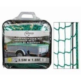 Aanhangwagennet 3,5 x 1,8mtr. in tas