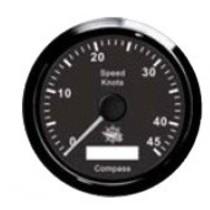 Guardian GPS snelheidsmeter 85mm