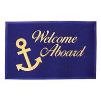"""Deurmat """"welcome on board"""""""