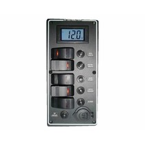 Electrical panel PCAL series with 9/32V digital voltmeter