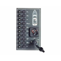 Watertight electric control panel