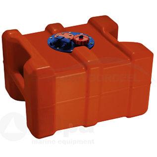 allpa 40 liter brandstoftank uit polyethyleen met handvaten