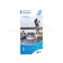 ANWB waterkaart Friesland 2020