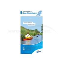 ANWB waterkaart Noord-Groningen 2020