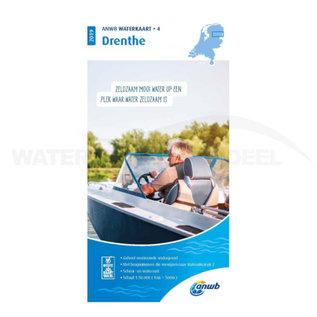 ANWB Waterkaart 4 Drenthe Editie 2019