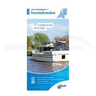 ANWB waterkaart 6 Twentekanalen Editie 2020