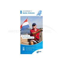 ANWB waterkaart Grote Rivieren 2020