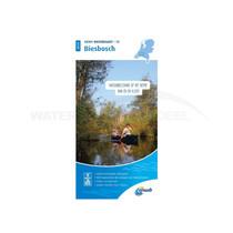 ANWB waterkaart Biesbosch