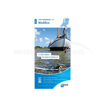 ANWB waterkaart Wadden 2020