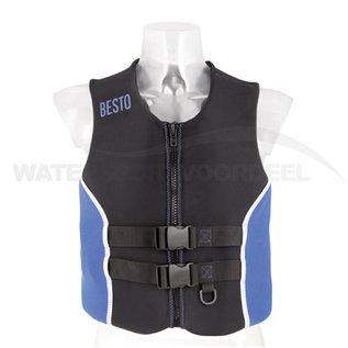 Besto Active Reddingsvest Volwassenen Neo Blauw-zwart