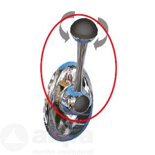 allpa Motorbediening met twistgrip-schakelaar