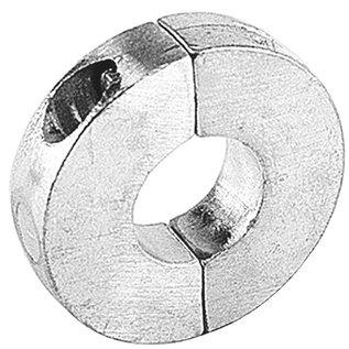 talamex Schroefas anode aluminium vlak 20mm